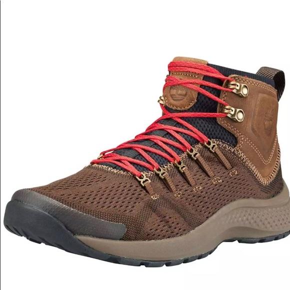 0238a4534a3 Men's Timberland Flyroam Trail AeroCore Boots 11.5 NWT